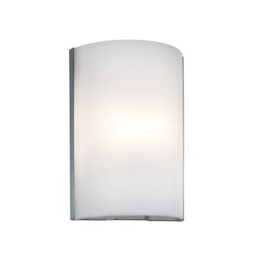 Jesco Lighting WS299-FR The SIENNA collection of glass Wall Sconces is ADA compliant, and offered in an array of warm earth tones ranging from frosted white, onyx, amaretto, mocha to red finishes - Peazz.com