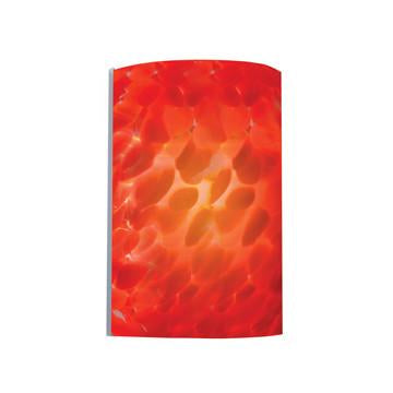 Jesco Lighting WS299-RD Sienna Series 299 1-Light Wall Sconce, Red - JescoStore