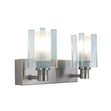Jesco Lighting WS301-2 2- Light Wall Sconce AKINA-Series 301 - JescoStore