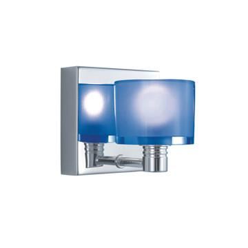 Jesco Lighting WS305-1CB The CRYSTAL Counter Balance Pendants, offered in 3-, 4-, and 5-lights with matching Wall Sconces in 1-light and 2-light are beautifully scaled - Peazz.com