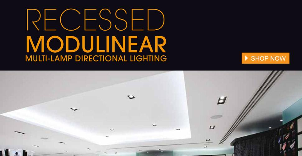 Jesco Lighting Recessed Modulinear Lighting