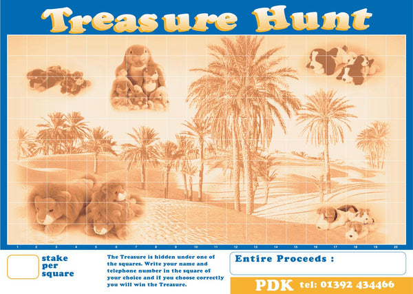 Treasure Hunt Poster Game