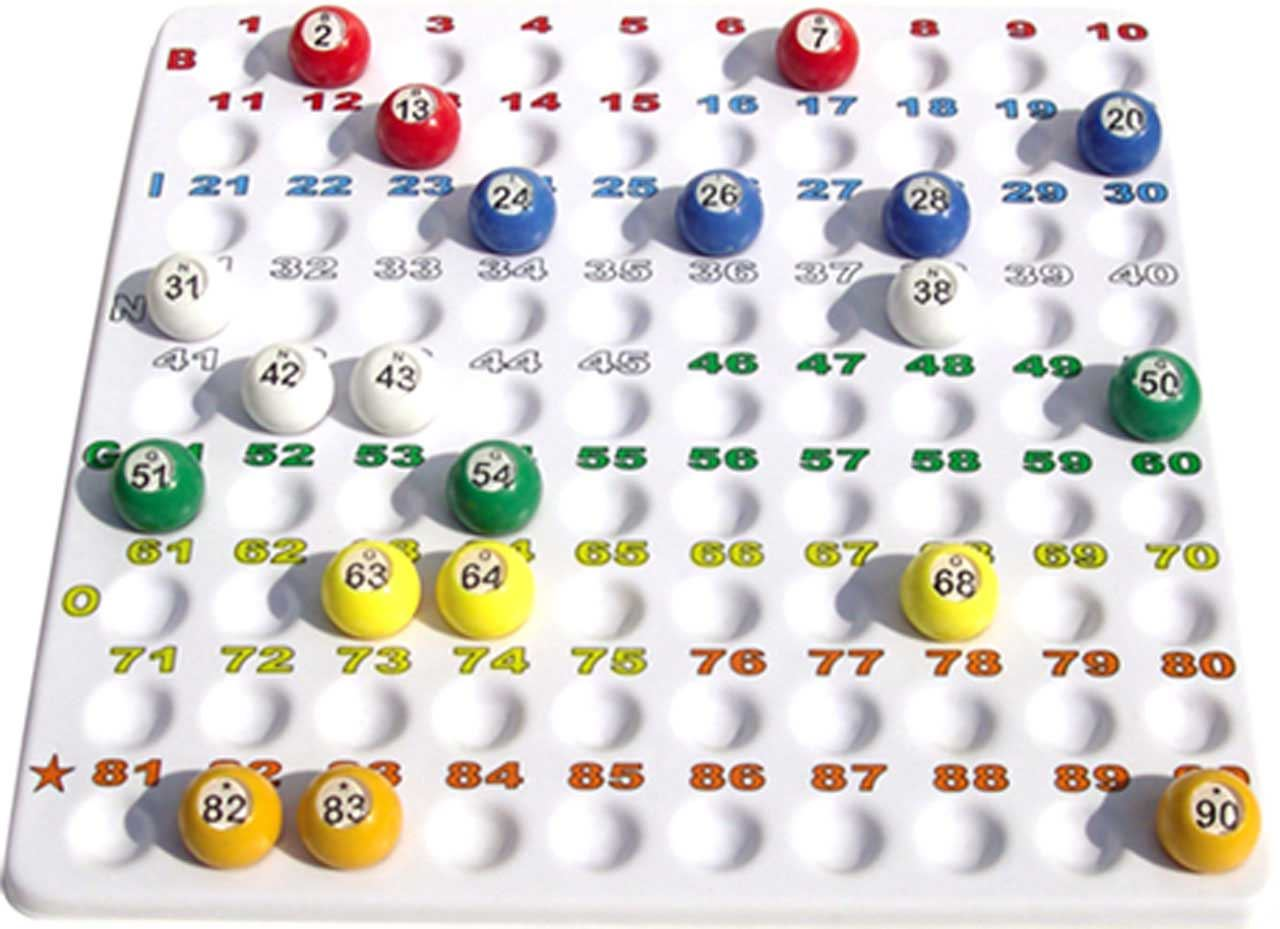 Small Bingo Checkboard for 22mm Balls