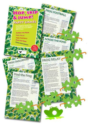 Hop, Skip and Jump! Party Games