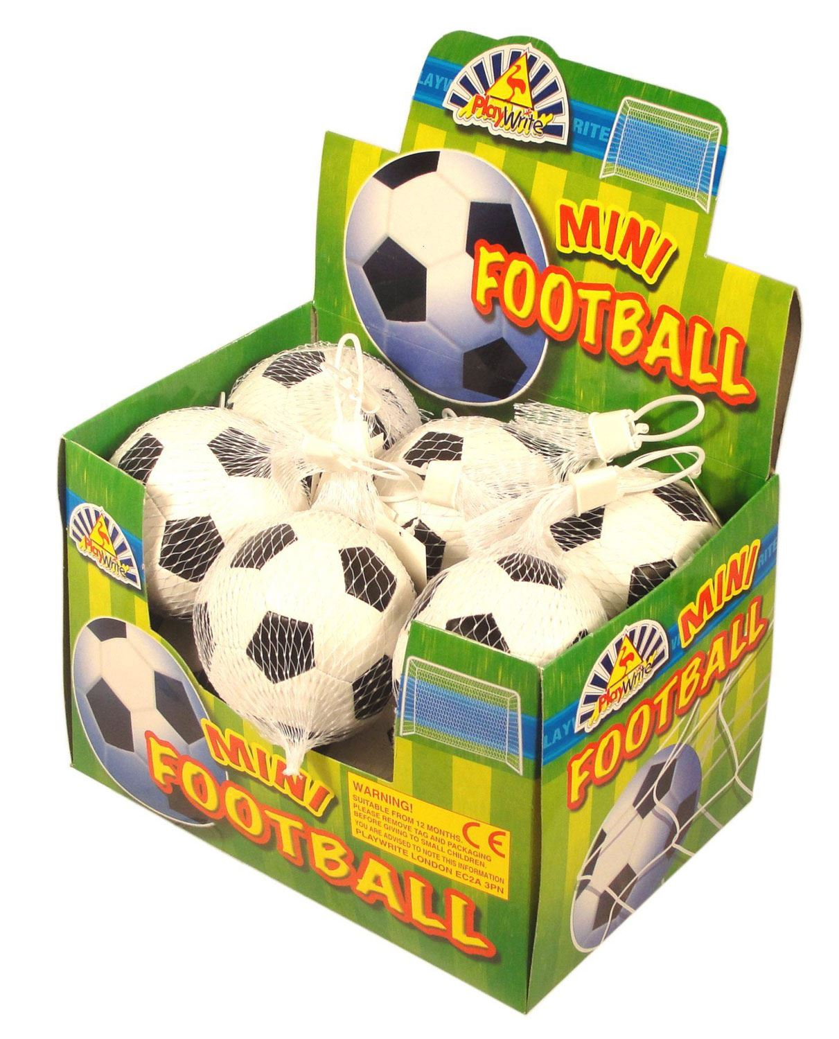 12 Mini Soft Footballs