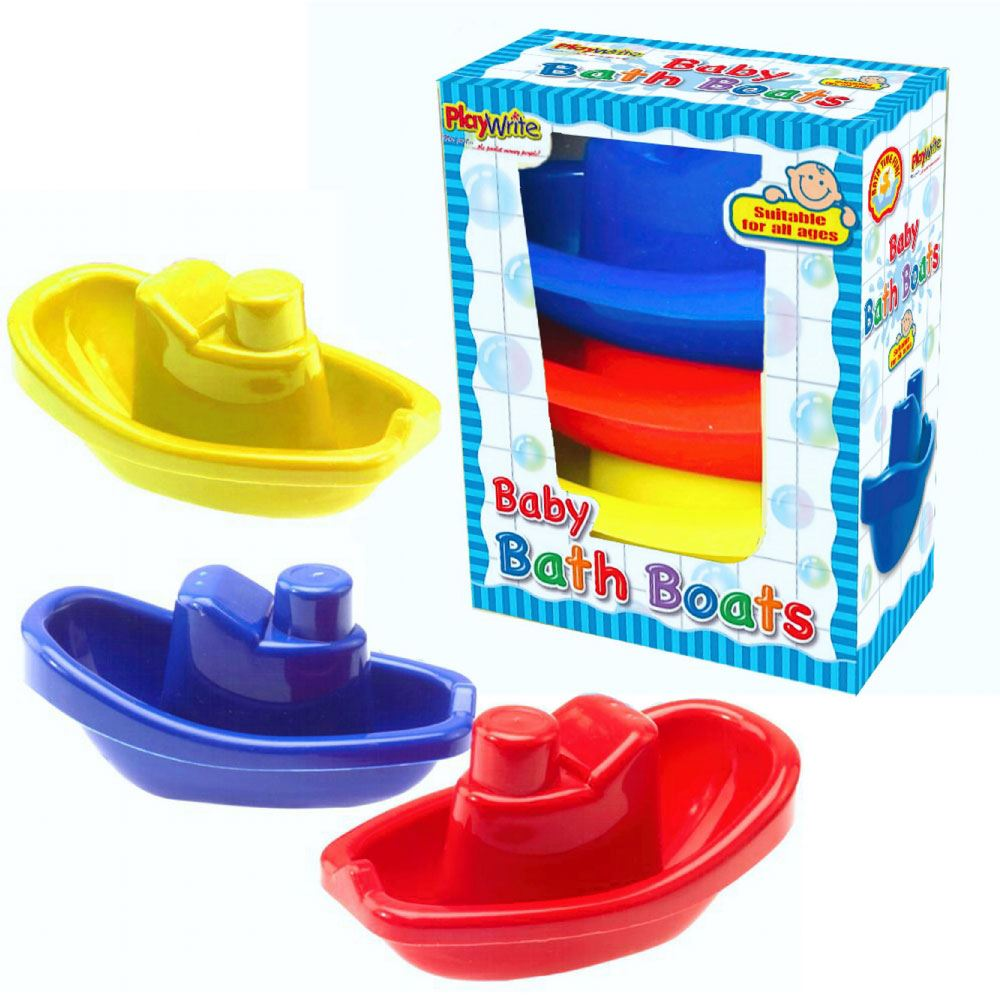 Baby Bath Boat Set