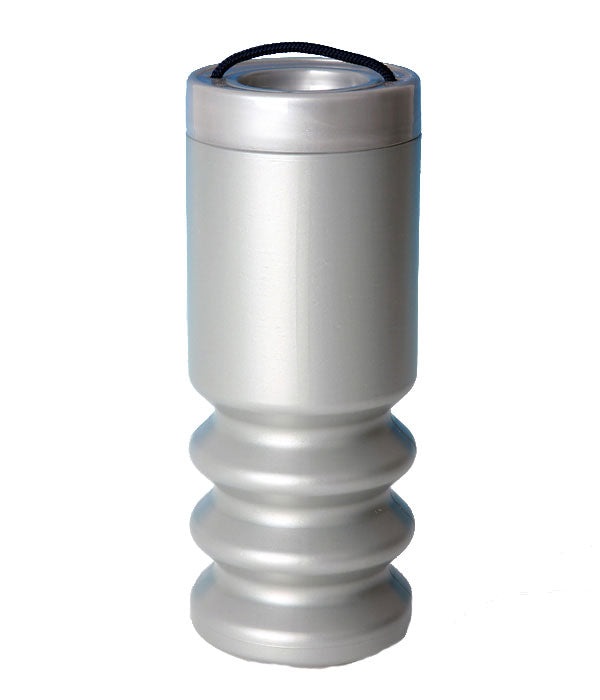 Handheld Charity Collection Box - Silver