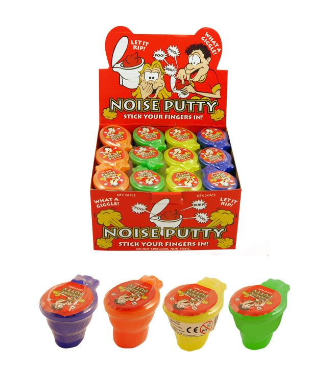 24 Medium Noisy Putty in Toilet