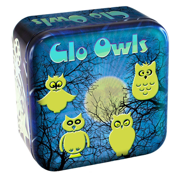 Glo Owls and Stars