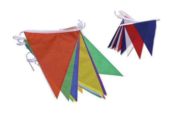 Multicoloured Nylon Bunting 7m