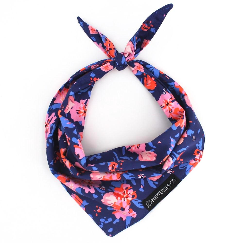 Coral Floral Bandana - Neptune & Co.