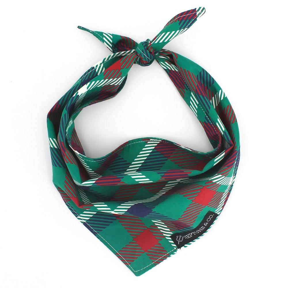 Buffalo Plaid Bandana - Neptune & Co.