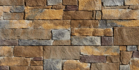 Harbor Sunset Ledgestone Panel