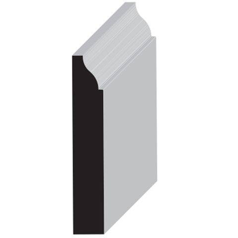 WM 623 - 15/32 in. x 3-1/4 in. Primed finger joint 16 Foot Pieces $0.84/LF