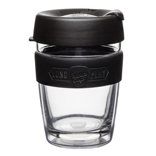 Double Wall Glass - Black - 12oz