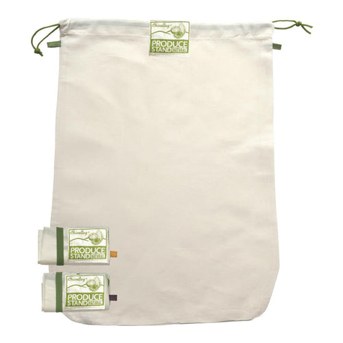 Produce Bags - 3 Pack - Natural Fiber