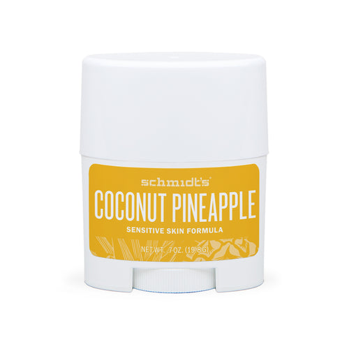 Natural Deodorant - Sensitive Skin - Coconut Pineapple - Travel Size