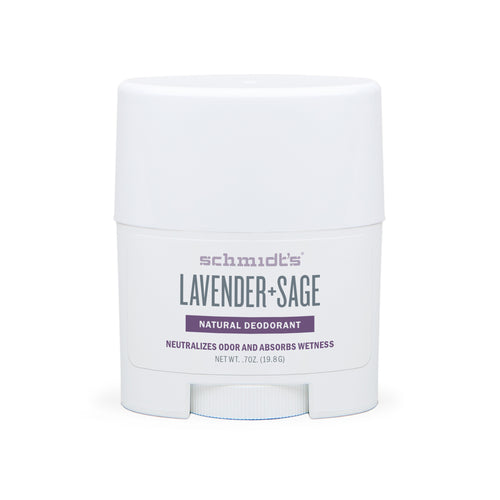 Natural Deodorant - Lavender + Sage - Travel Size