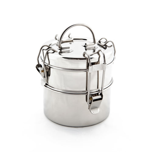 Stainless Steel Food Container - Snack 2-Tier Tiffin