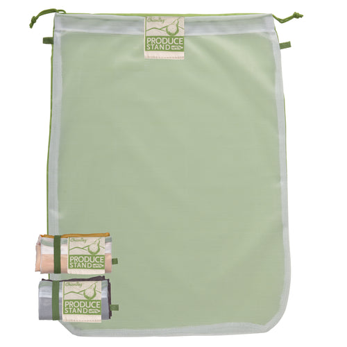 Produce Bags - 3 Pack - Recycled Plastic Mesh