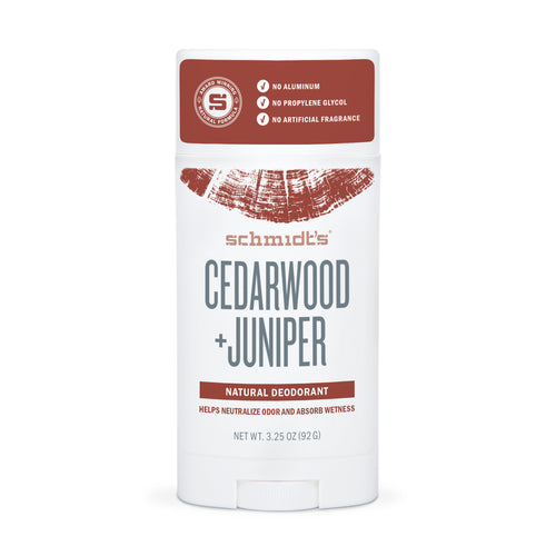 Natural Deodorant - Cedarwood + Juniper - Full Size