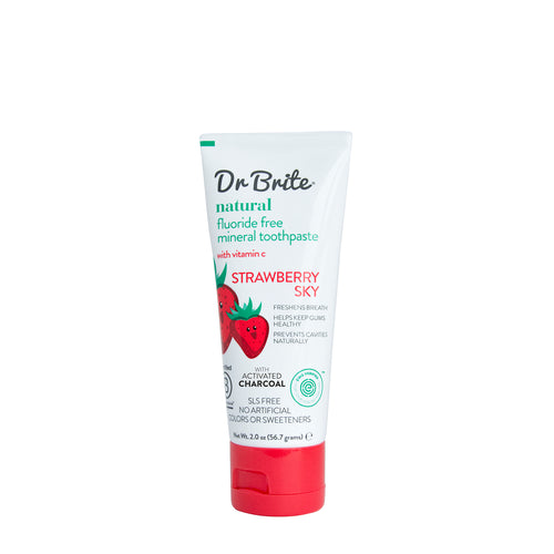 Natural Toothpaste - Kid's Strawberry - Travel Size