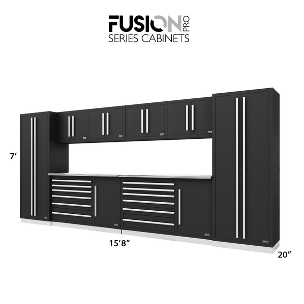 Fusion PRO Cabinets – 10 Piece TOOL Set – The works