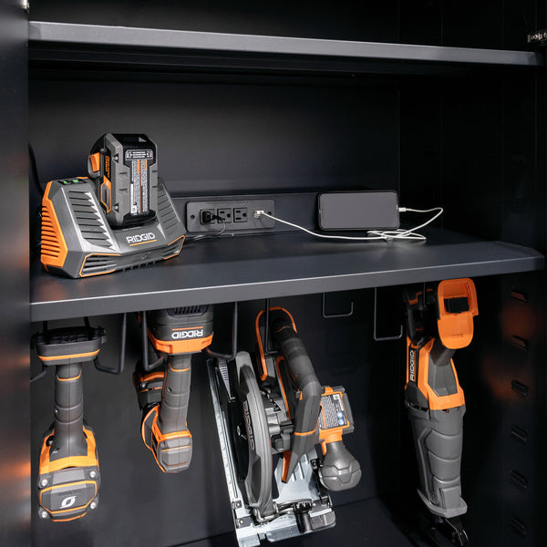 Fusion Pro — Charging station for tall cabinets