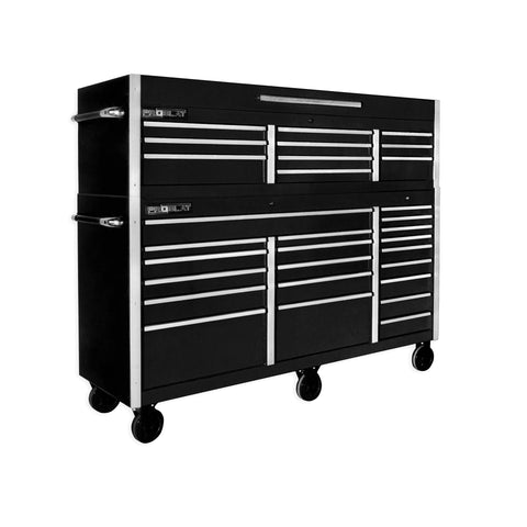 MCS 72 in. Rolling tool chest combo – Black