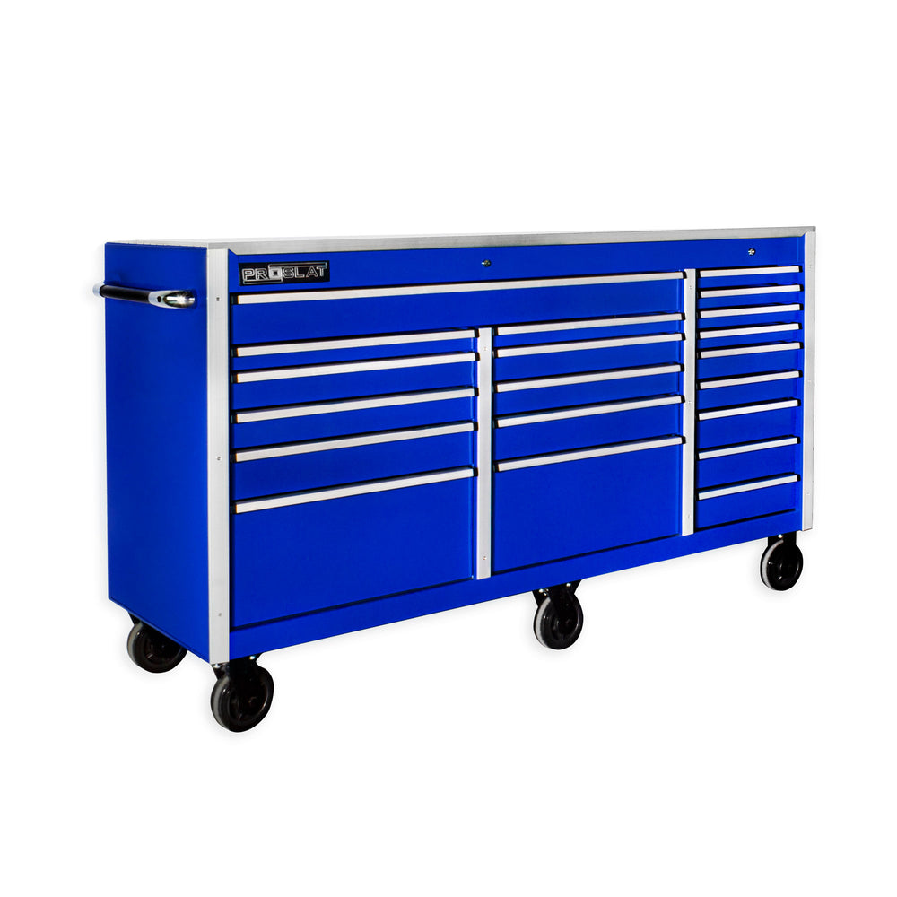 MCS 72 in. Rolling tool chest – Blue