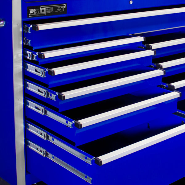 MCS 30 in. Rolling tool chest combo – Blue
