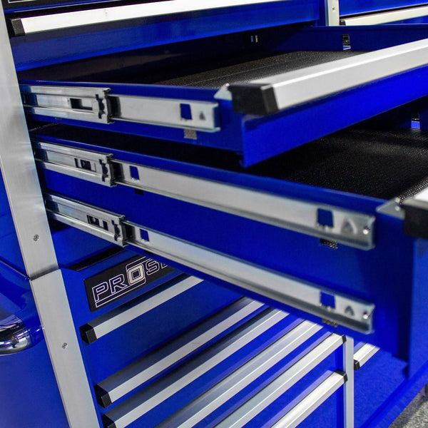 MCS 72 in. Rolling tool chest combo – Blue