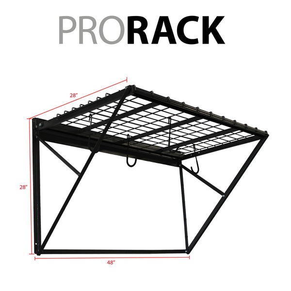 ProRack 4 ft. with Slatwall Bracket