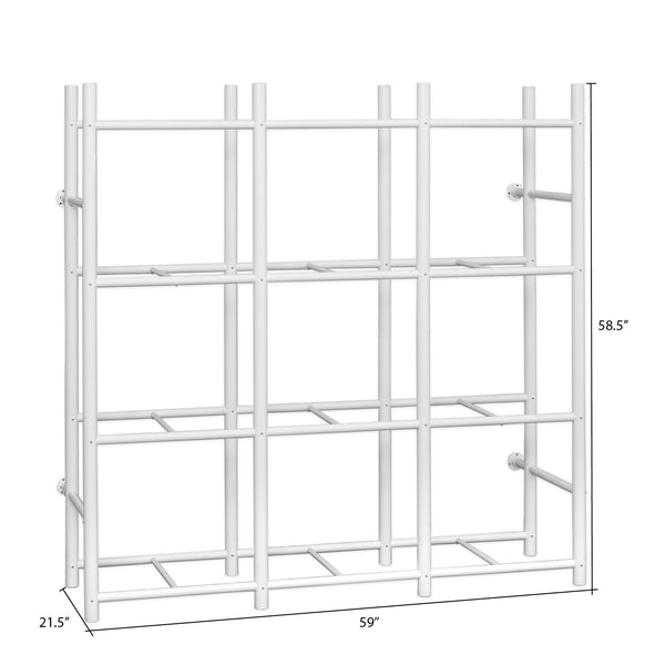 Bin Warehouse Rack – 12 Totes Compact