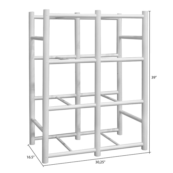 Bin Warehouse Rack – 8 Filebox with 2 x 6 PK 9 gallon Fold-A-Tote