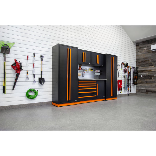 Fusion PRO Cabinets – 6 Piece Tool Chest Set – The works