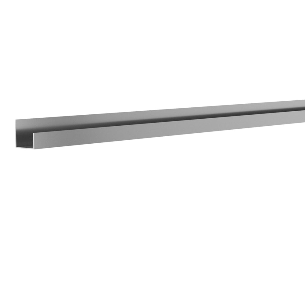 8 ft. Aluminium J Trim
