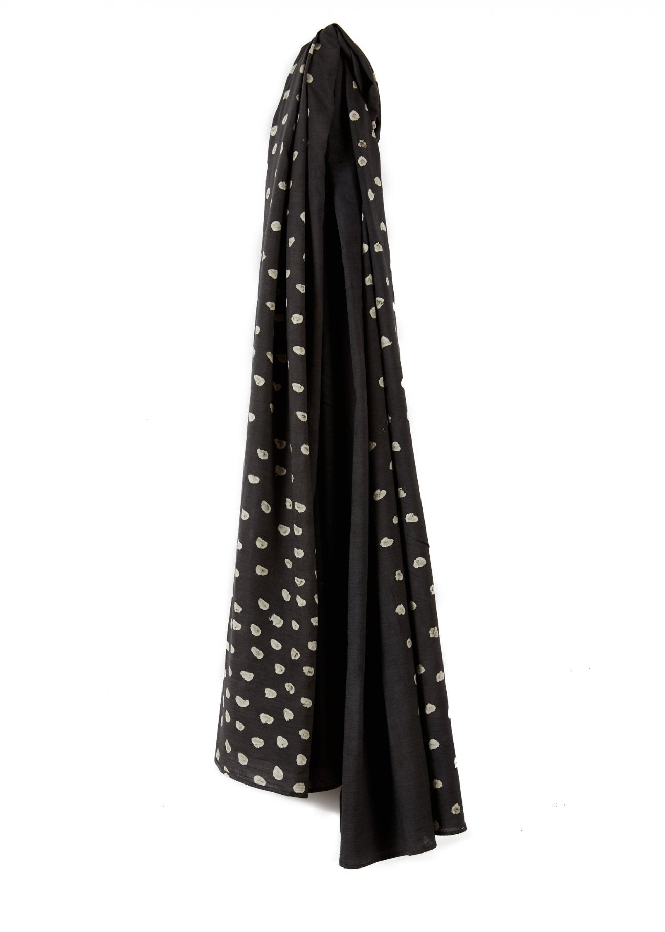 Long Scarf 1/2 Dot Grey