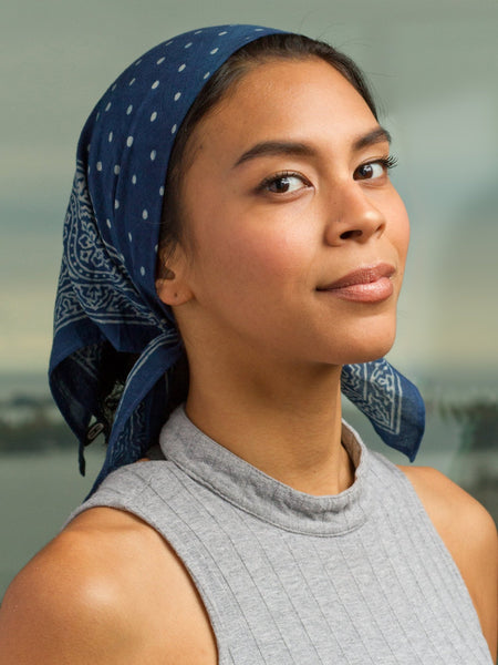 The Indigo Bandana