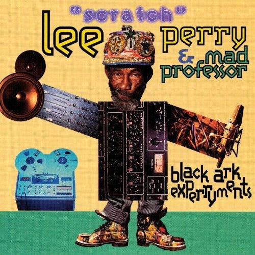"Black Ark Experryments: Lee ""Scratch"" Perry and Mad Professor's colossal collaboration back on wax"