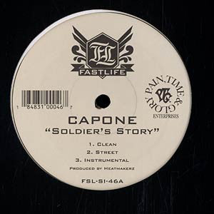 Capone ‎– Soldiers Story / Been A Long Time
