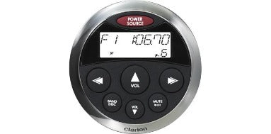 Clarion MW1 Watertight Face w/ SS Bezel Remote
