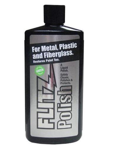 Flitz Metal, Plastic and Fiberglass Polish Liquid