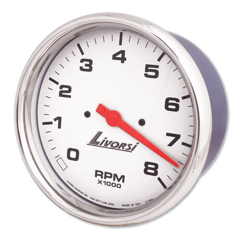 Livorsi RPM Gauge - Grey 2 1/2""