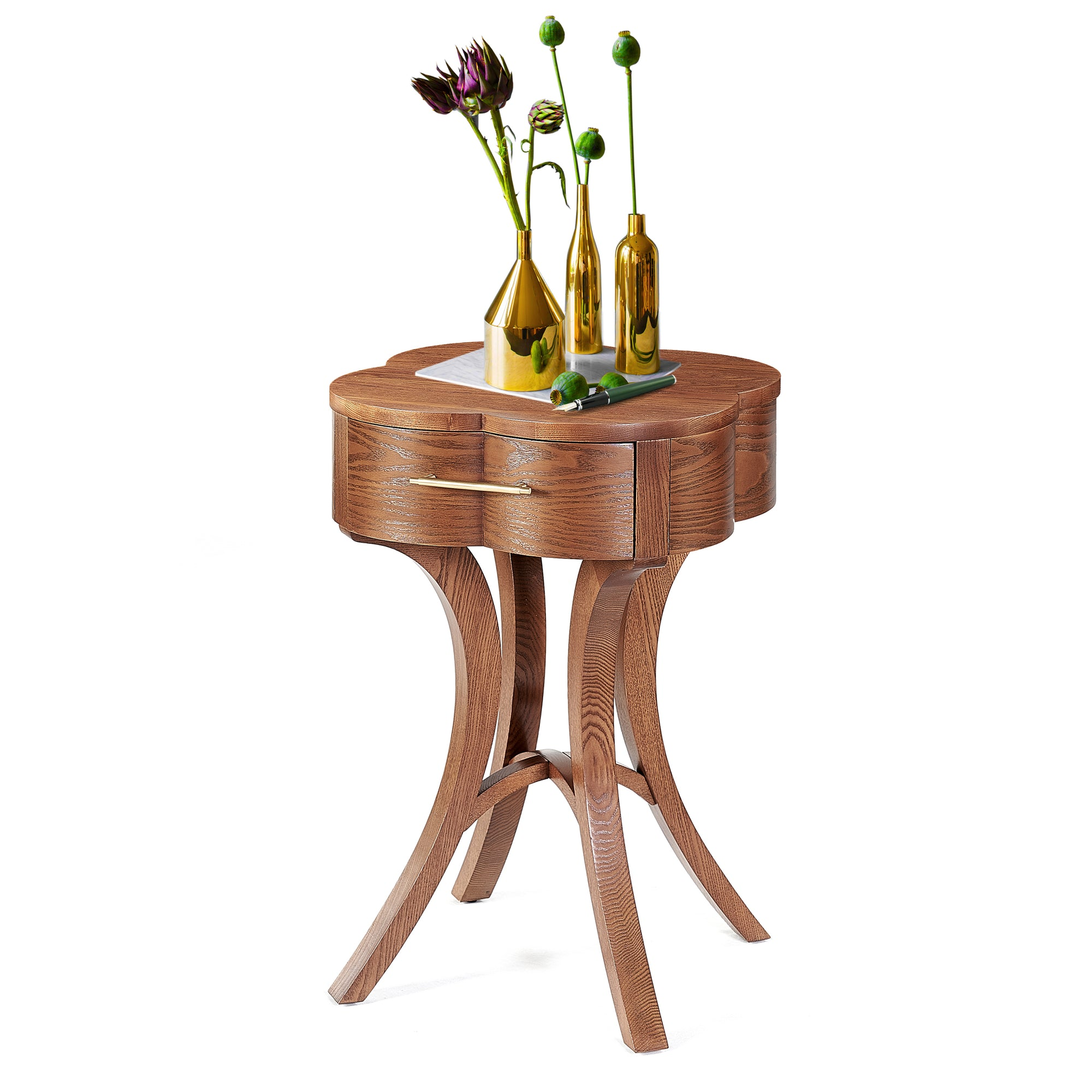 Lucky Lucas Ash Side Table