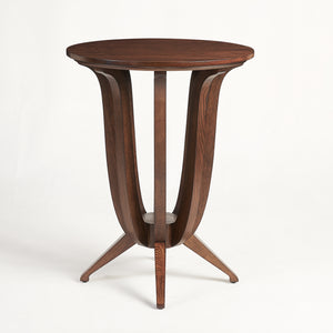 Imperial Deco solid wood Ash side table
