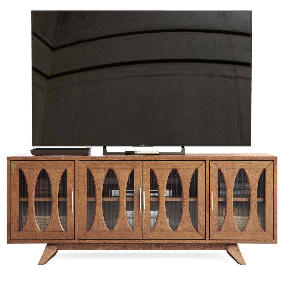 Jupiter 30 solid ash frame Media Console