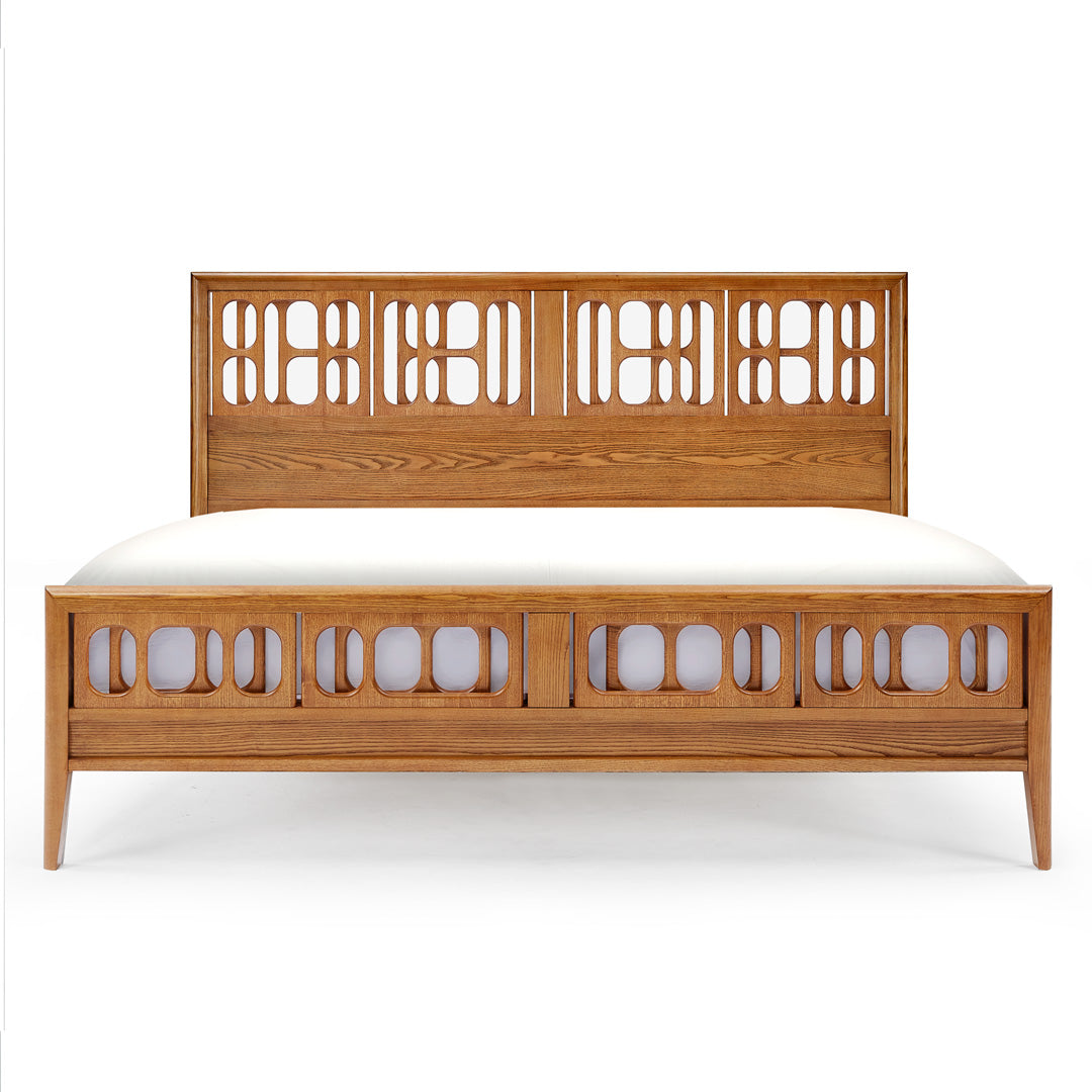 NOR modern solid wood bed