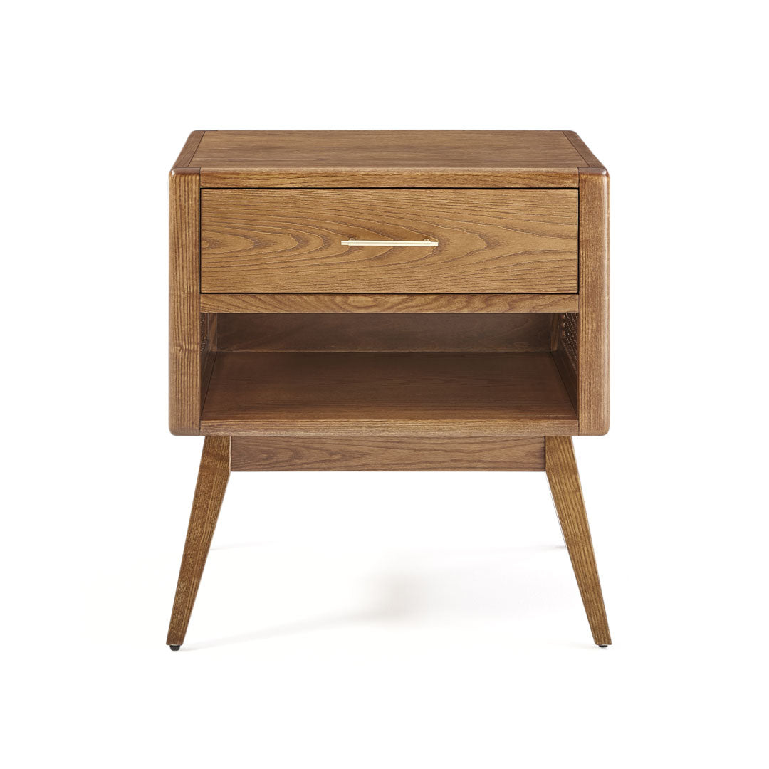 St Lucia solid wood frame nightstand