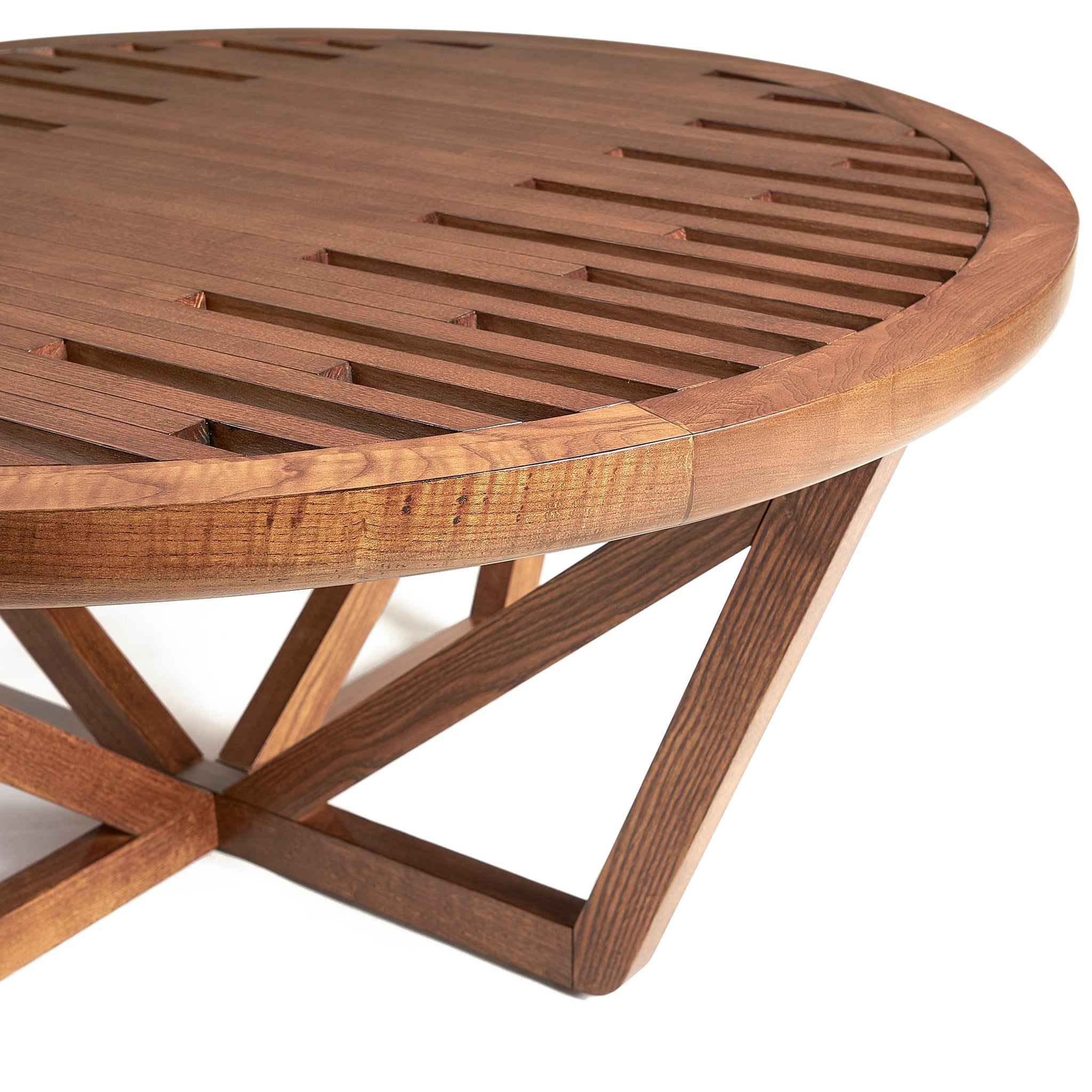 Komodo Solid Ash Coffee Table | ADDITIONAL 35% AT CHECKOUT CODE: RETRO MAN